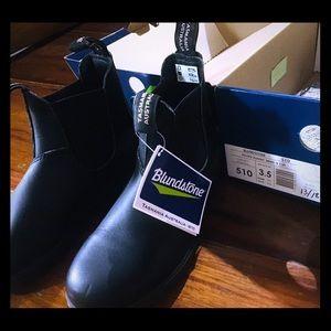 Blundstones US W6.5 black boots